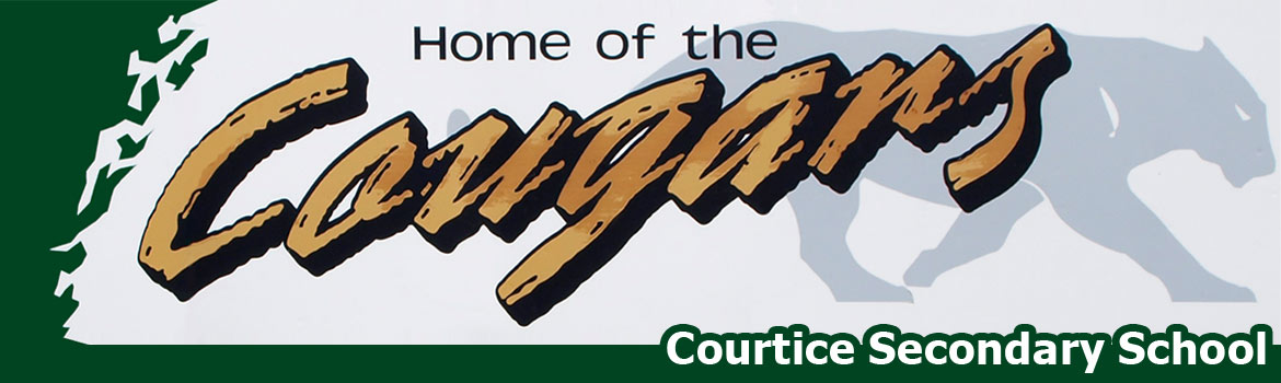 logo of the home of the cougars