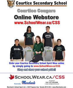 Order your Cougar wear today!